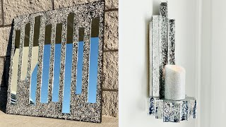 DIY Home Decor Ideas | LUXE DIY Mirror Wall Decor | LGQUEEN Home Decor