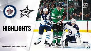 NHL Highlights | Jets @ Stars 11/21/19