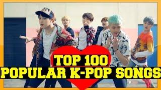 [TOP 100] MOST POPULAR K-POP SONGS OF 2016 (JUNE)