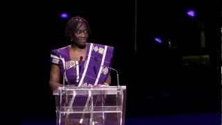 "Theo Sowa: ""African women just do not give up"" - Hope Rising! 2012"