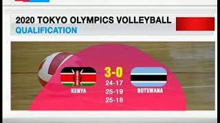 Malkia strikers strike Egypt three sets to one in 2020 Tokyo volleyball olympics qualifiers
