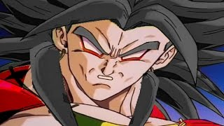 Revival of Broly: The ascension to Legendary Super Saiyan 4!