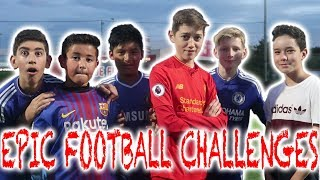 Epic Kids Football Challenges: (With Crossbar Challenge and Dizzy Penalties!)