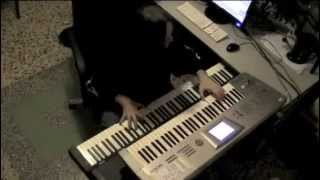 Keys video - DANIELE LIVERANI - TWINSPIRITS - The Endless Sleep (keys medley)