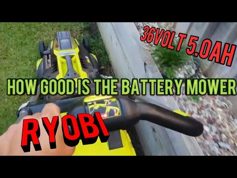 Reviewed Ryobi 36V 5.0Ah 18″ Brushless Lawn Mower Kit