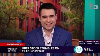 Uber Is The First U S  Unicorn To Open Below IPO Price Since 2018   Jack Brewer Joins Yahoo Finance
