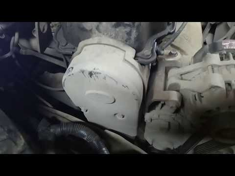 Замена ремня генератора, роликов, а также проверка меток на коленвале и грм на Chery Amulet