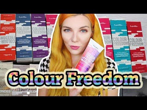 COLOUR FREEDOM AUSWASCHBARE HAARTÖNUNG - Infos zu den Produkten - Pasteliser