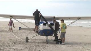 Embry-Riddle plane makes emergency landing on Crescent Beach | Kholo.pk
