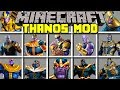 Download Video Minecraft THANOS MOD! l CRAFT INFINITY GAUNTLET AND BECOME THANOS! l Modded Mini-Game