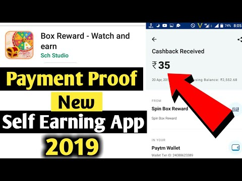 Rewards Spin Free Unlimited Earn Scratch win Paytm Payment Proof