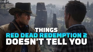 17 Things Red Dead Redemption 2 Doesn