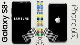 Samsung Galaxy S8 (2017) vs. Apple iPhone 6S (2015) Speed Test
