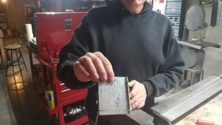 Down & Dirty Modding Quick Tip - Bending aluminum  in a vice