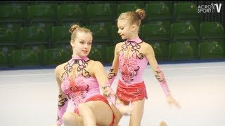 preview picture of video 'Sachsenpokal Riesa 2012 Age Group Dynamic Germany Women`s Pair, Mendel, Mehlhaff'