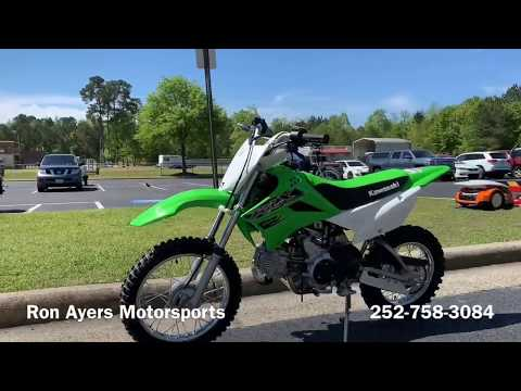 2019 Kawasaki KLX 110 in Greenville, North Carolina - Video 1