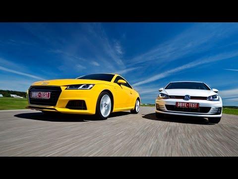 Audi  TT Купе класса A - тест-драйв 5