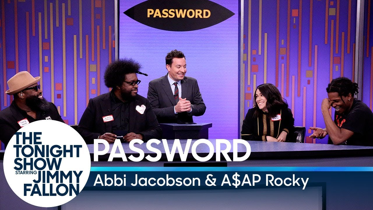 Password with Abbi Jacobson and A$AP Rocky thumbnail