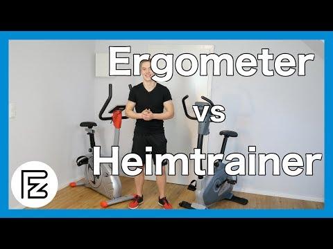 ERGOMETER vs HEIMTRAINER | Was sind die Unterschiede?