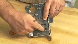 SARGENT Mortise Lock Handing Change