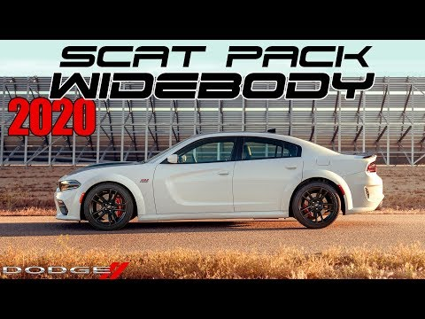 A Look at 2020 Dodge Charger Scat Pack Widebody | Inside & Out | Kendall, FL