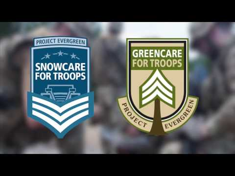 Snow Care for Troops