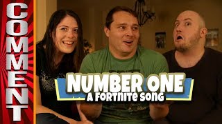 Comments from NUMBER ONE: A FORTNITE SONG