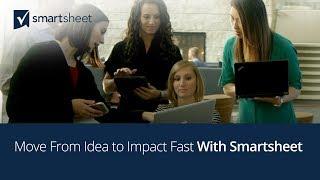 Vídeo de Smartsheet