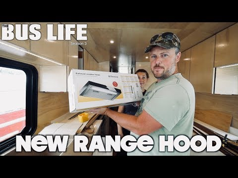 RV Range Hood Imported from Germany  | The Bus Life