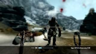 Skyrim как убивать великанов ножом и ВИЛКОЙ!!!