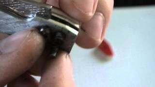 Автоматический самодельный нож (обзор)