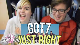 GOT7   JUST RIGHT (딱 좋아) ★ MV REACTION
