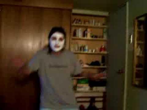Facial mask na may gliserin at langis ng lansina