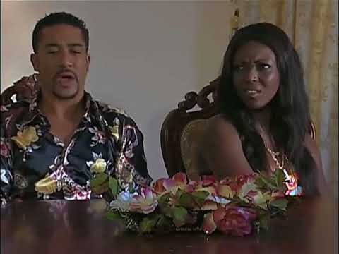 Majid Michel and Yvonne okoro - when we first got married...