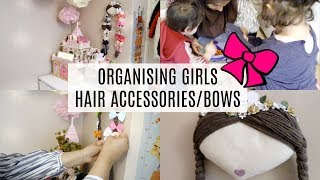 Girls Hair Accessories Storage Solutions