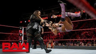 Nia Jax vs. Alicia Fox: Raw, Sept. 24, 2018 - Video Youtube