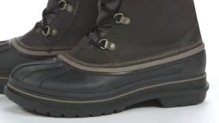 "Мужские Зимние ботинки крокс ол каст М10-27,5см Crocs Men""s AllCast II Snow Boot - видео 1"