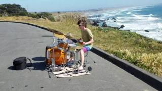 Drummer Boy and Ocean Waves: Drum Solo - Best Drum Solos - How to Play Drums - Drum Lessons