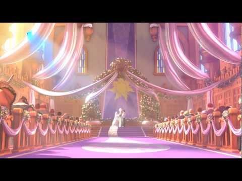 Đám cưới của công chúa tóc dài (đã từng dài). Xem buồn cười tí chết!