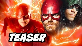 The Flash Arrow Elseworlds Episode 3 - Crisis On Infinite Earths Teaser Easter Eggs
