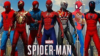 Spider-Man PS4 - ALL Suits Ranked from WORST to BEST!