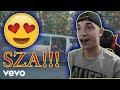 HER VOICE!! *REACTION* SZA - Broken Clocks (Official Music Video)