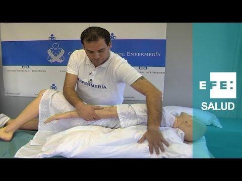 """""""Postureo"""" obligado del paciente encamado"""