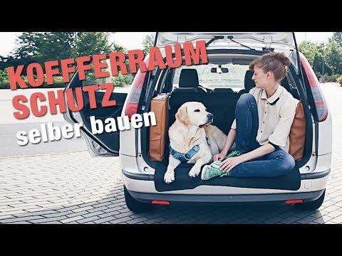 KOFFERRAUM-SCHUTZ für HUNDE selber bauen | Hund im Auto transportieren