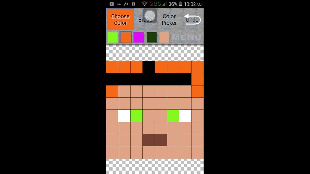 Descargar MCPE Skin Creator/Apk PoPo Gam3r para celular #Android