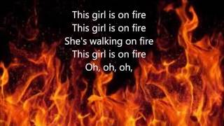 Girl on Fire by Alicia Keys (Lyrics)