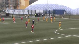 preview picture of video 'FK Senica vs MFK Košice 1:3 U19  15/3/2015'