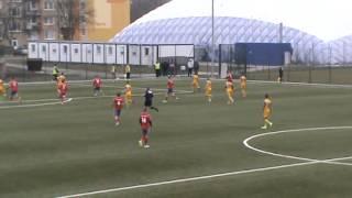 preview picture of video 'FK Senica vs MFK Košice 1:3 U19  15/3/2015'