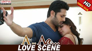 Nithiin Samantha Love Scene | Nithiin, Samantha | Trivikram | A Aa (Hindi Dubbed Movie)