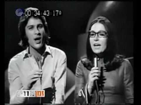 Erev shel shoshanim - Mike Brant & Nana Mouskouri